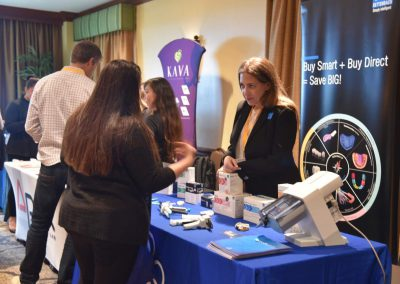 Kettenbach booth at the Dental Sllep, Pain, and DentalWriter User Conference