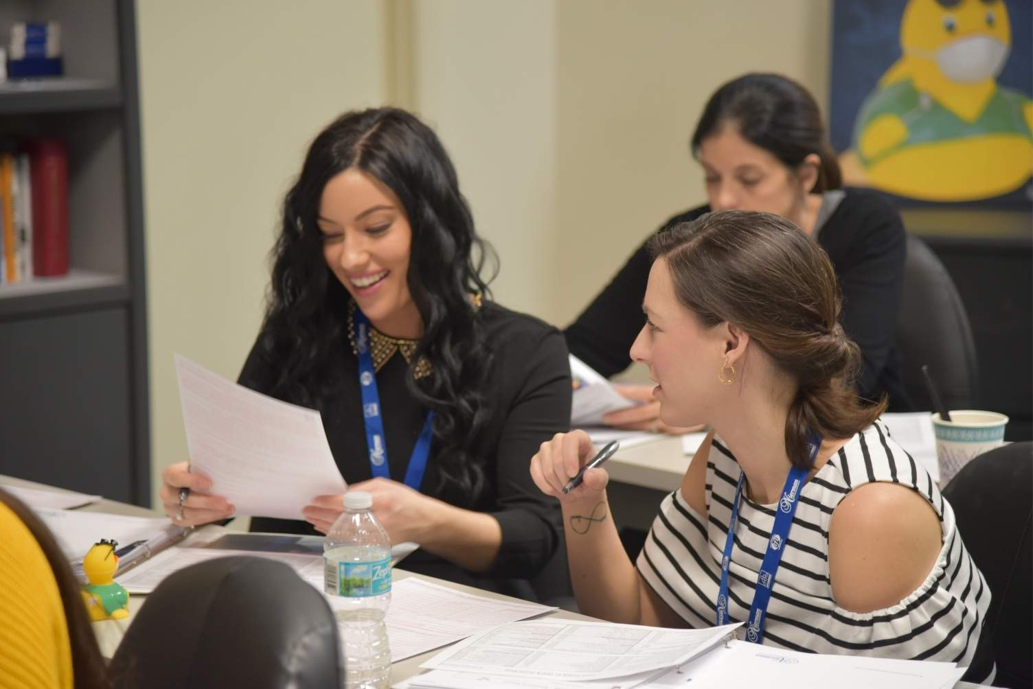 Cross-Coding Attendees at a Medical Billing/CrossCoding CE Course