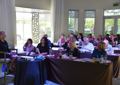 Rose Nierman speaking at a Medical Billing/ Cross-Coding CE Course
