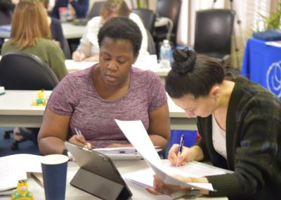 CrossCoding attendees at a Medical Billing/ CrossCoding Course