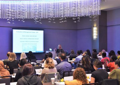 Rose Nierman speaking at the Medical Billing/ CrossCoding CE Course