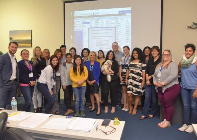 Rose Nierman with her Medical Billing/ CrossCoding Class