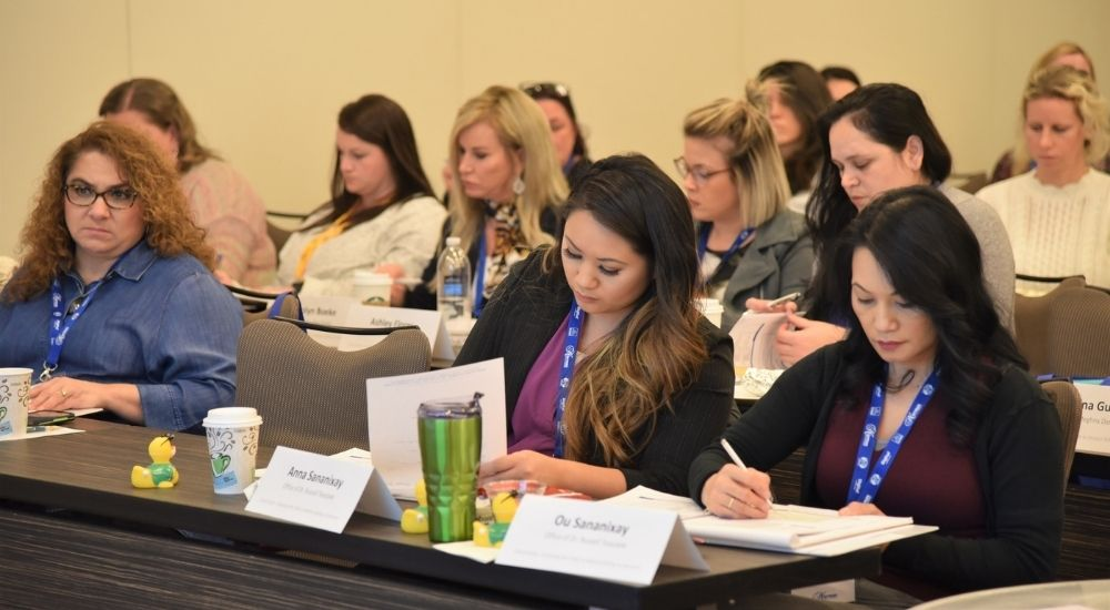 Cross-Coding attendees at a Medical Billing in Dentistry Course