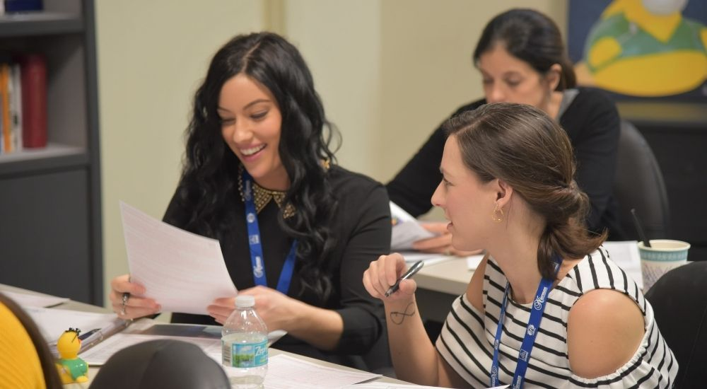 Cross-Coding attendees getting hands-on experience at a Medical Billing in Dentistry Course