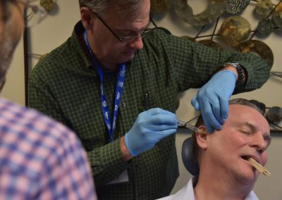 Hands-on trigger point injections for dental sleep medicine and TMJ course