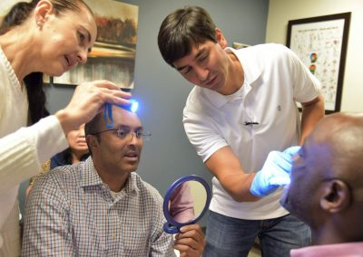 Hands-on training during Nierman's Successful Implementation of Dental Sleep Medicine CE Course