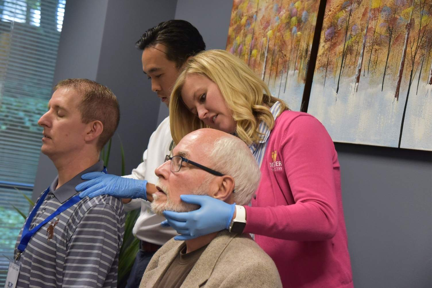 Hands-on training for TMD and craniofacial pain