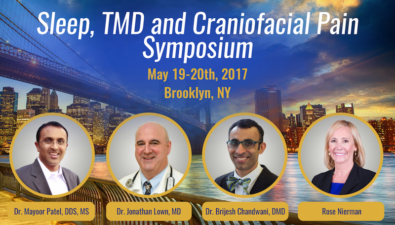 Dental Sleep Medicine & TMD Symposium 2017 Conference SCOPE Institute Nierman Practice Mgmt