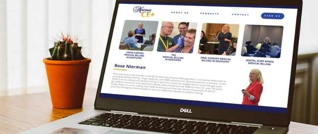 Nierman CE+ online medical billing in dentistry