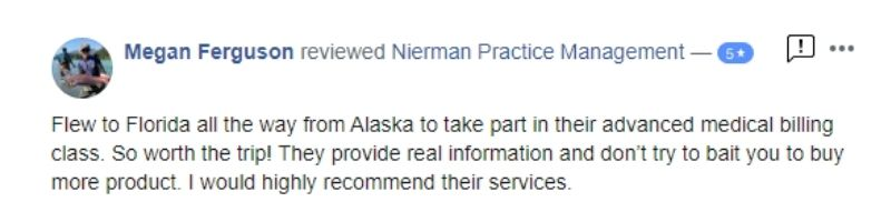 Nierman Medical Billing Course Review