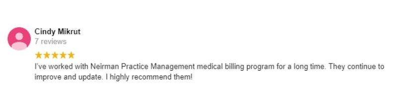 Nierman Medical Billing Review