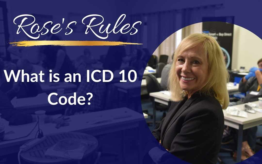 What is an ICD 10 code?