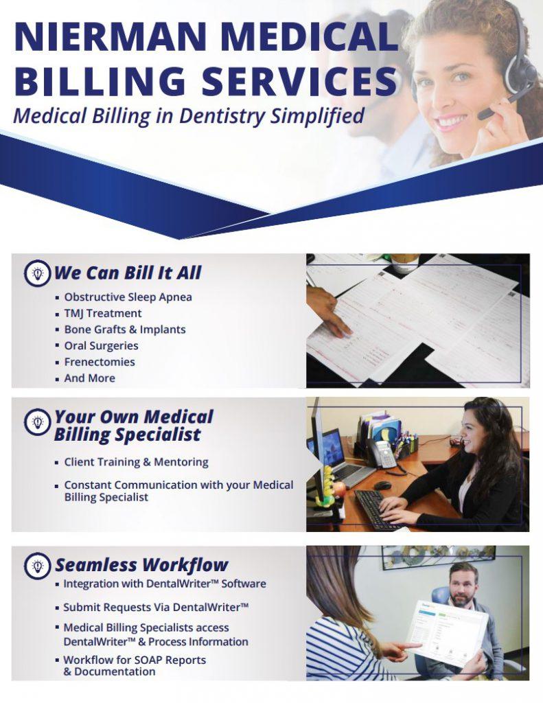DentalWriter Efficiency Package Flyer