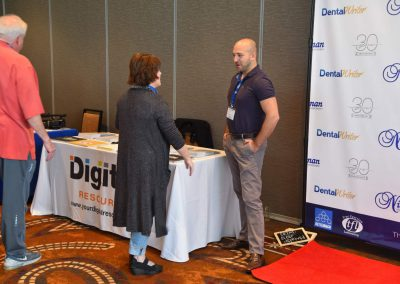 Digital Resource Booth at Nierman's 2018 DentalWriter User Conference