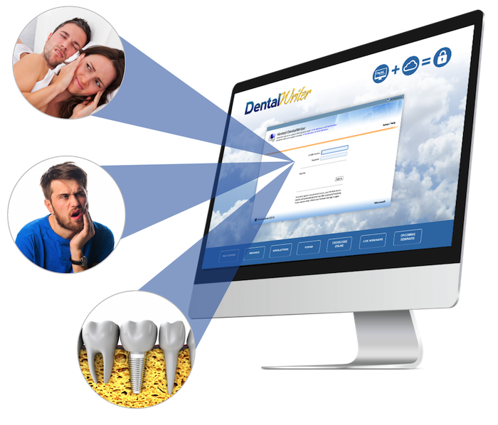 DentalWriter Software Has Modules for Dental Sleep Medicine, TMD, Oral Surgery, and Perio