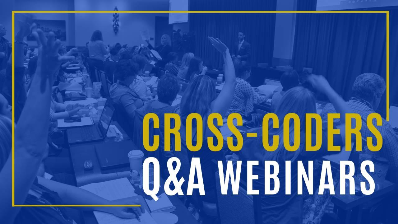 Cross-Coders Q&A Webinars